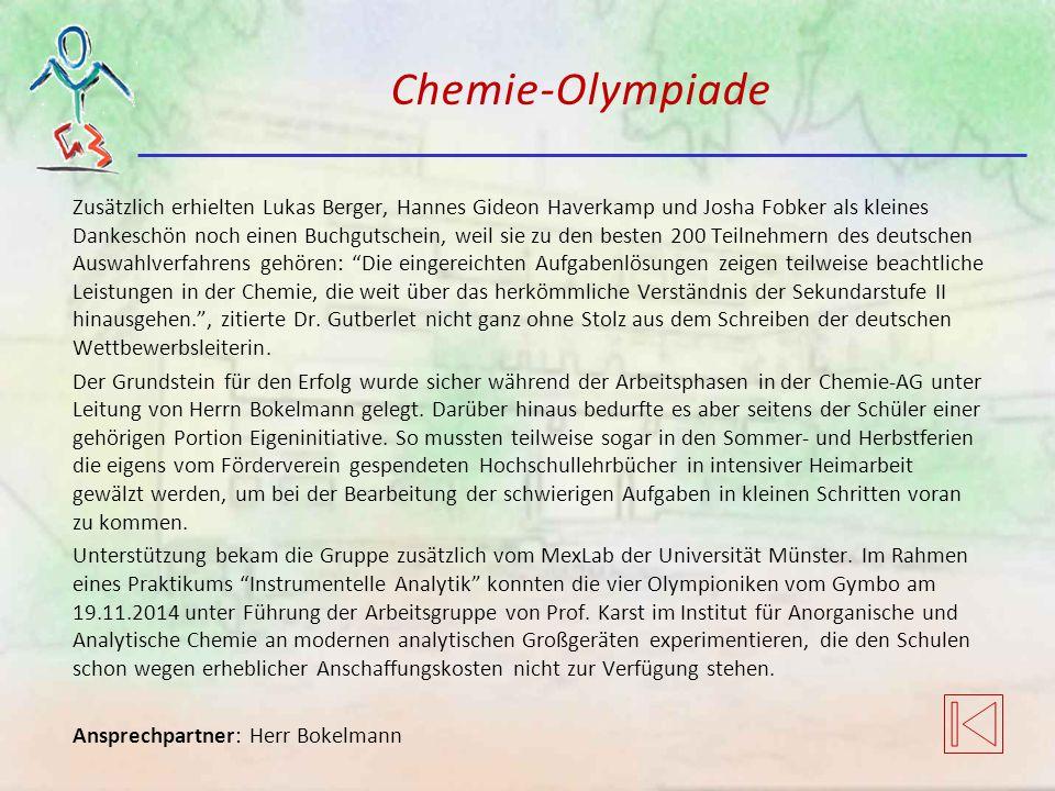 Chemie-Olympiade
