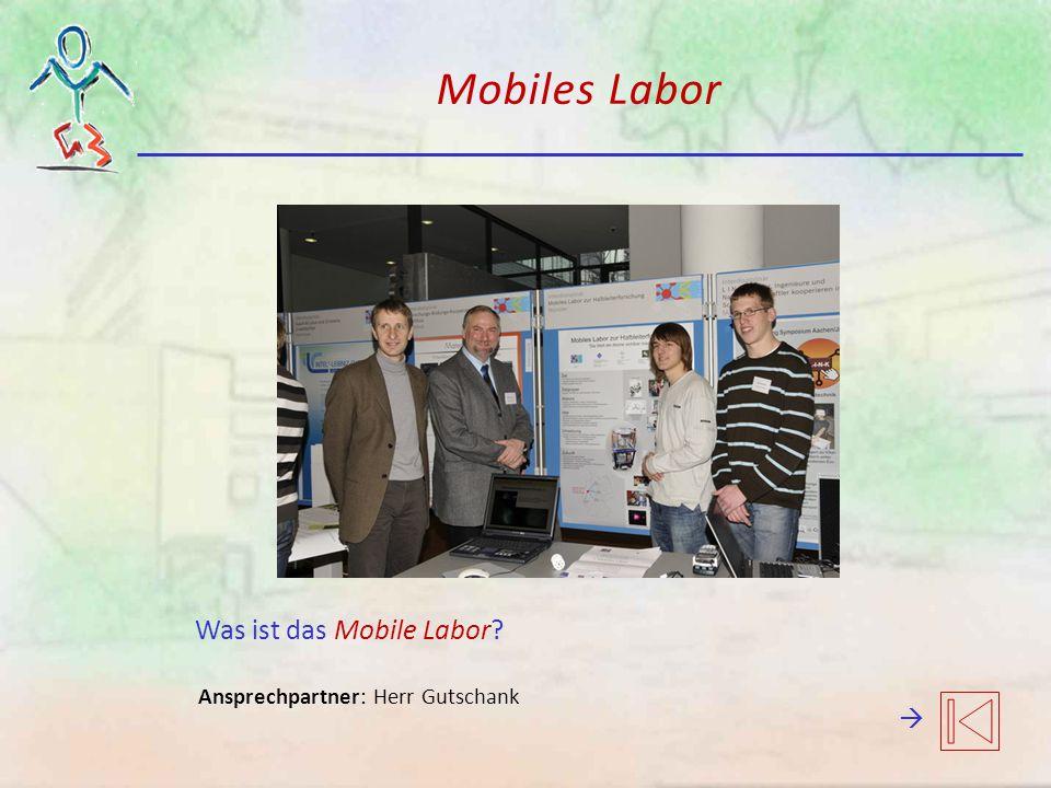 Mobiles Labor Was ist das Mobile Labor 