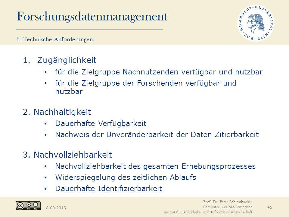 6. Technische Anforderungen