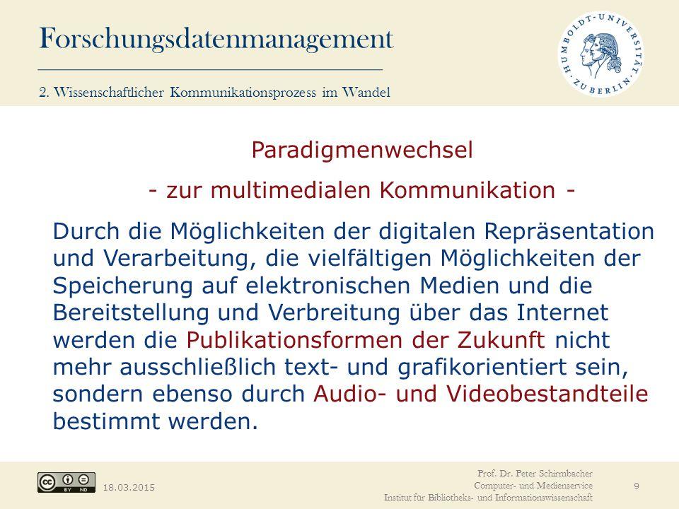 - zur multimedialen Kommunikation -