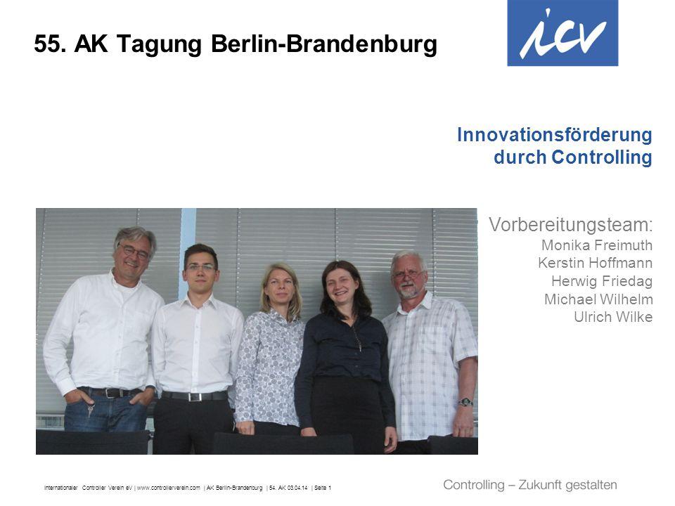 55. AK Tagung Berlin-Brandenburg