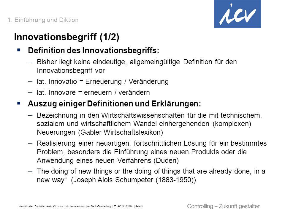 Innovationsbegriff (1/2)