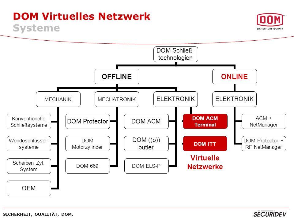 DOM Virtuelles Netzwerk Systeme
