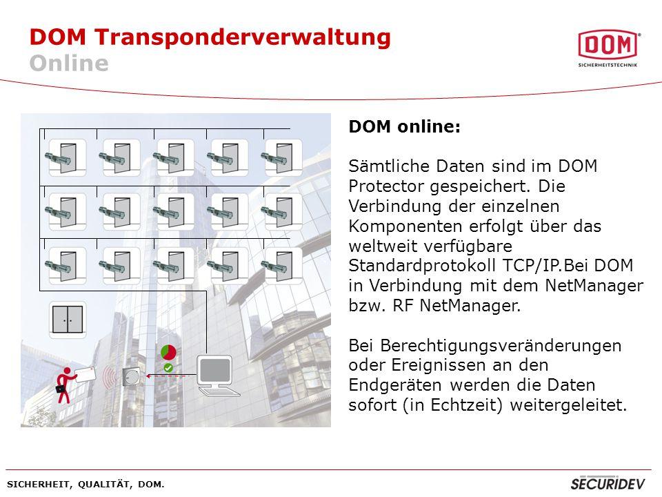 DOM Transponderverwaltung Online