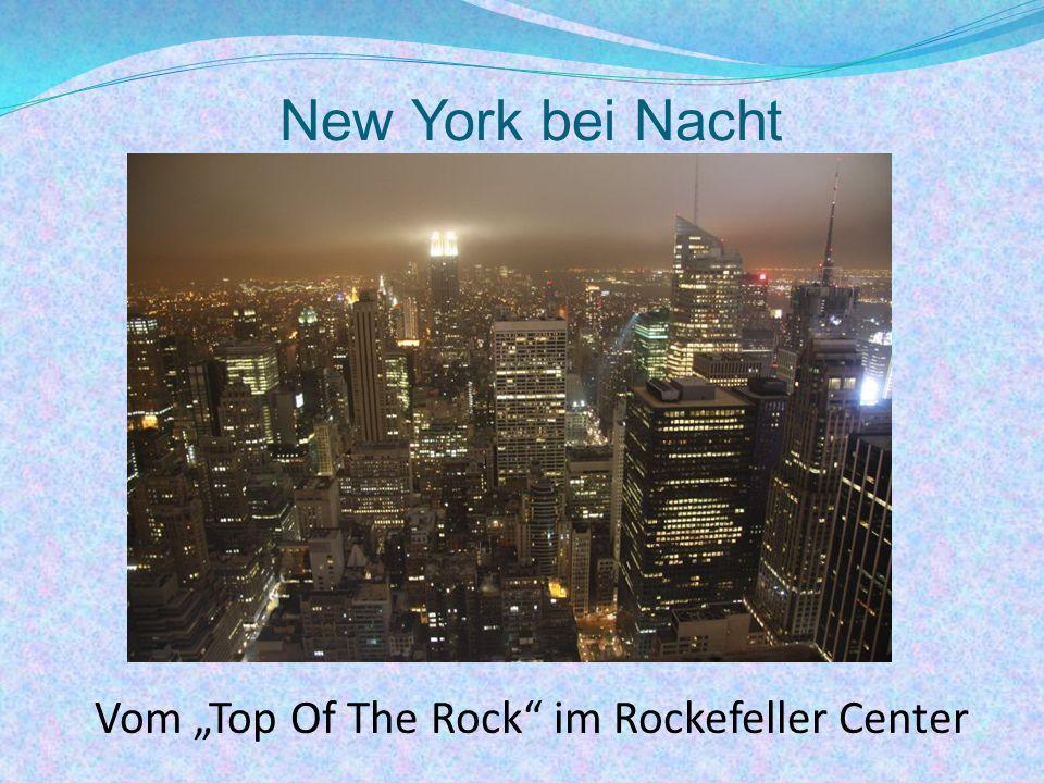 "Vom ""Top Of The Rock im Rockefeller Center"