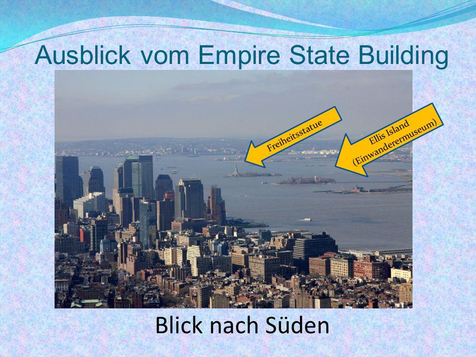 Ausblick vom Empire State Building