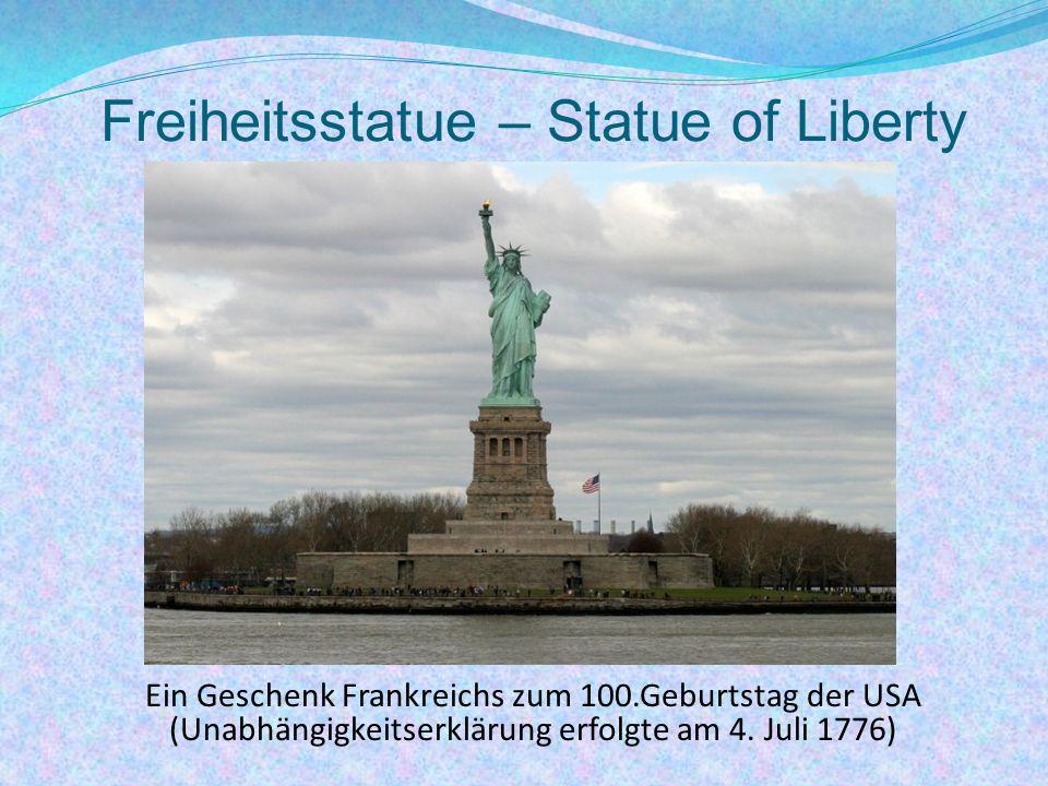 Freiheitsstatue – Statue of Liberty