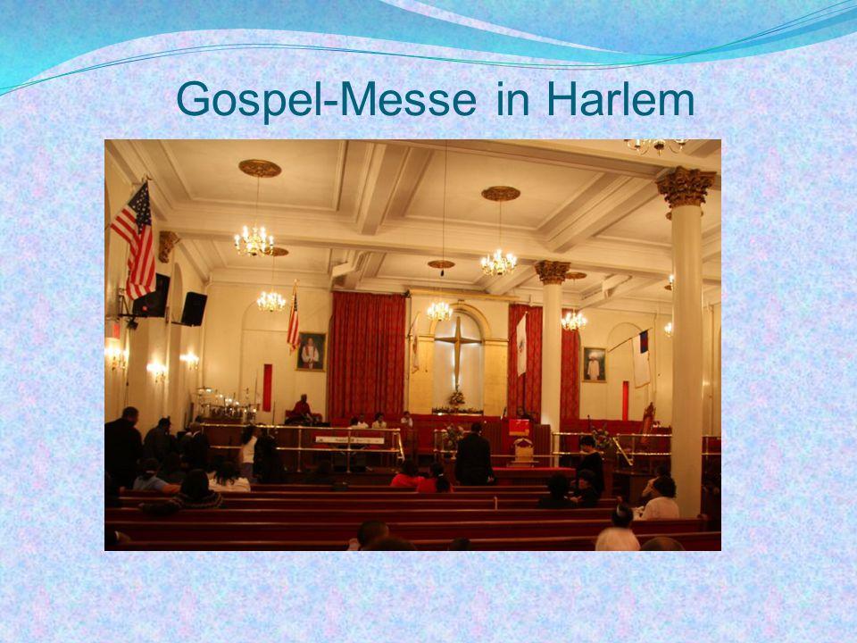 Gospel-Messe in Harlem