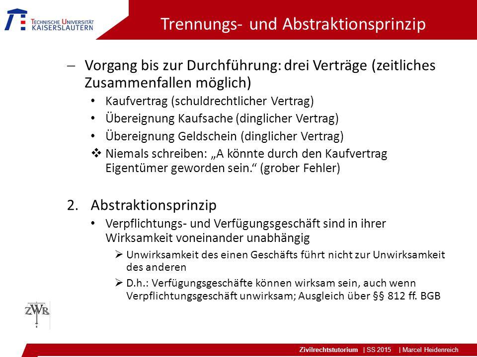 Trennungs- und Abstraktionsprinzip