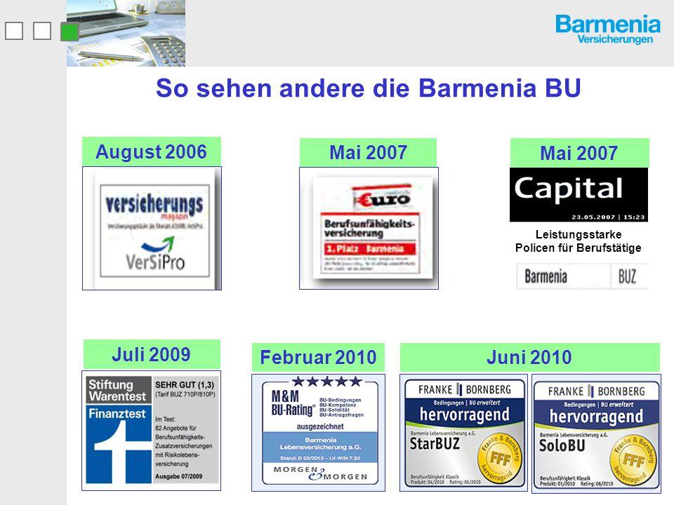 So sehen andere die Barmenia BU
