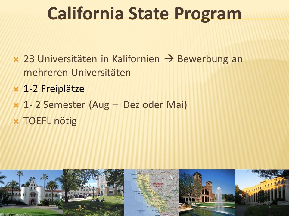 California State Program