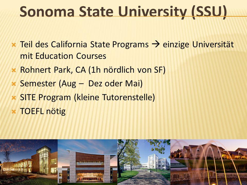 Sonoma State University (SSU)