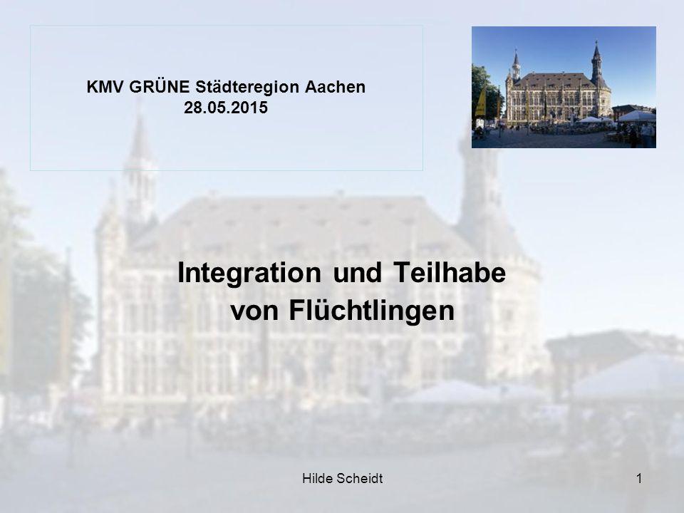KMV GRÜNE Städteregion Aachen 28.05.2015