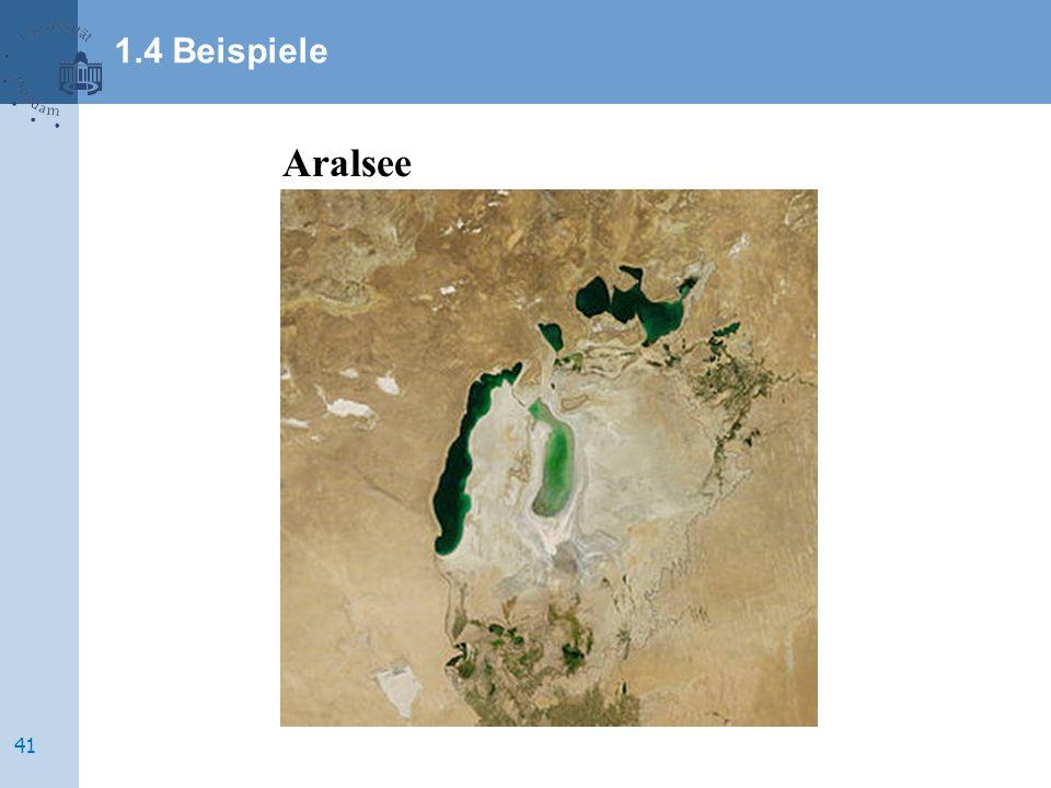 1.4 Beispiele Aralsee