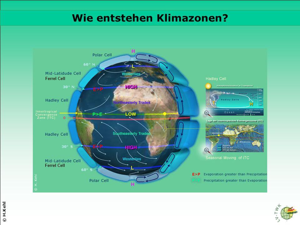 Wie entstehen Klimazonen
