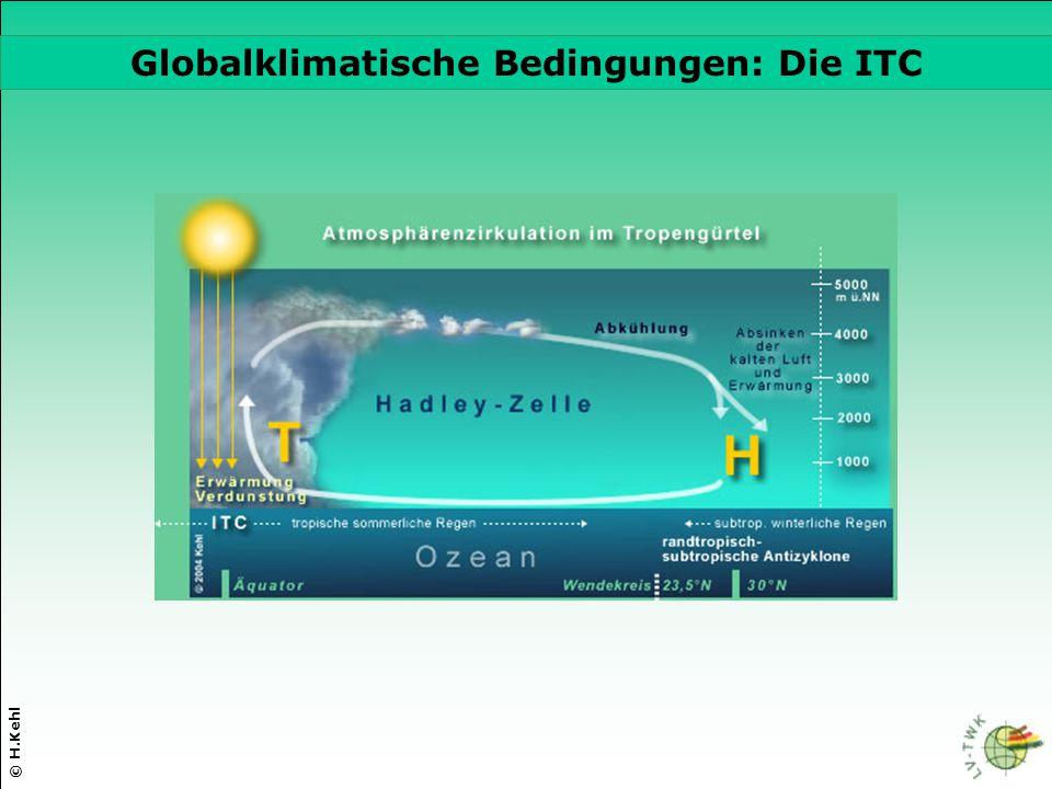 Globalklimatische Bedingungen: Die ITC