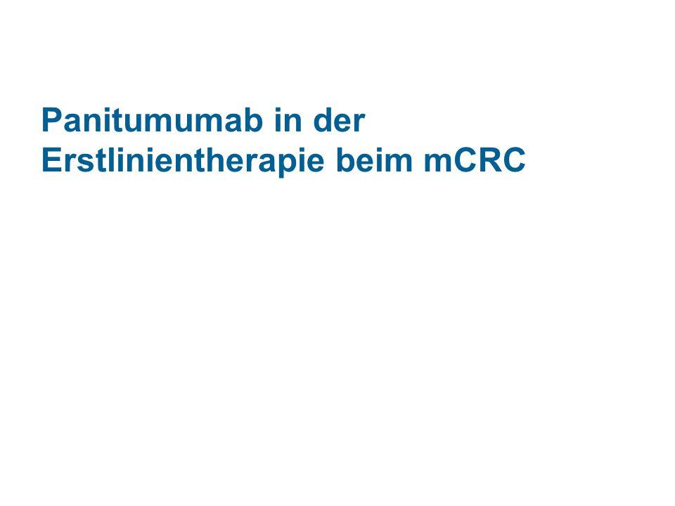 Panitumumab in der Erstlinientherapie beim mCRC