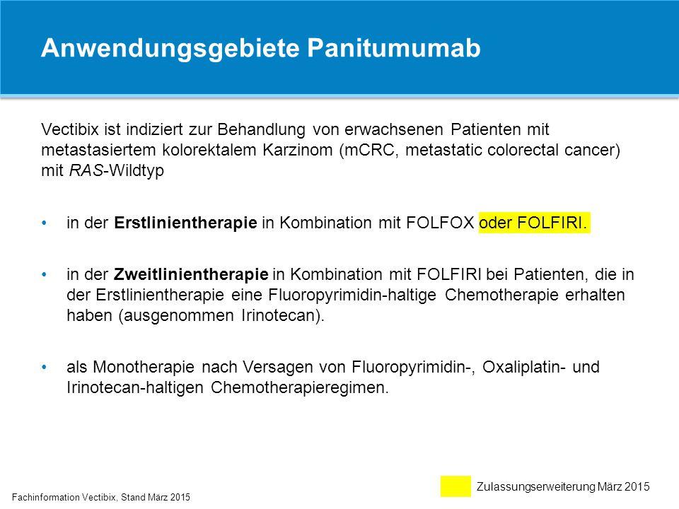 Anwendungsgebiete Panitumumab