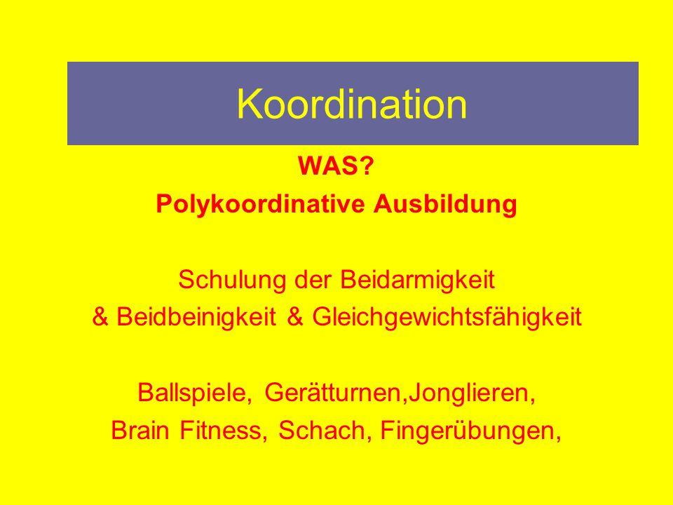 Polykoordinative Ausbildung