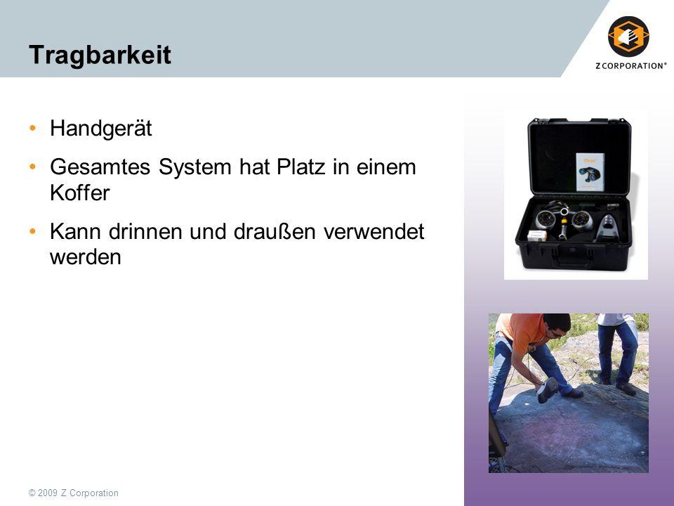 Tragbarkeit Handgerät Gesamtes System hat Platz in einem Koffer