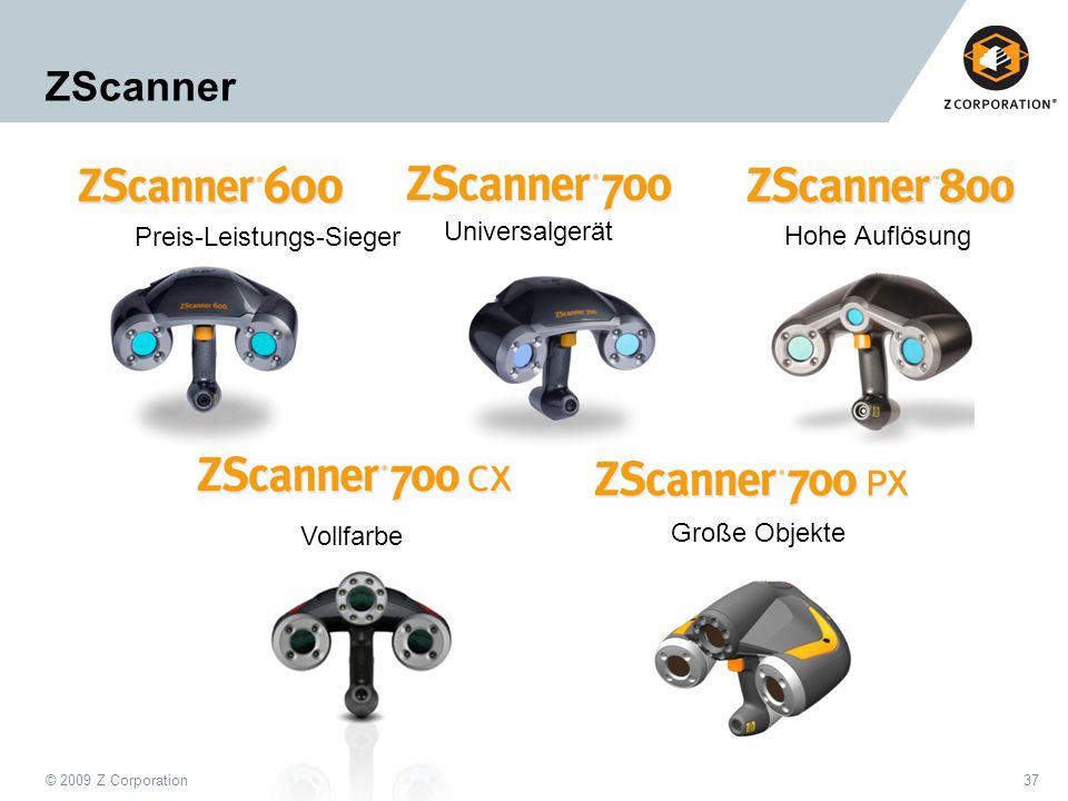 ZScanner Universalgerät Preis-Leistungs-Sieger Hohe Auflösung