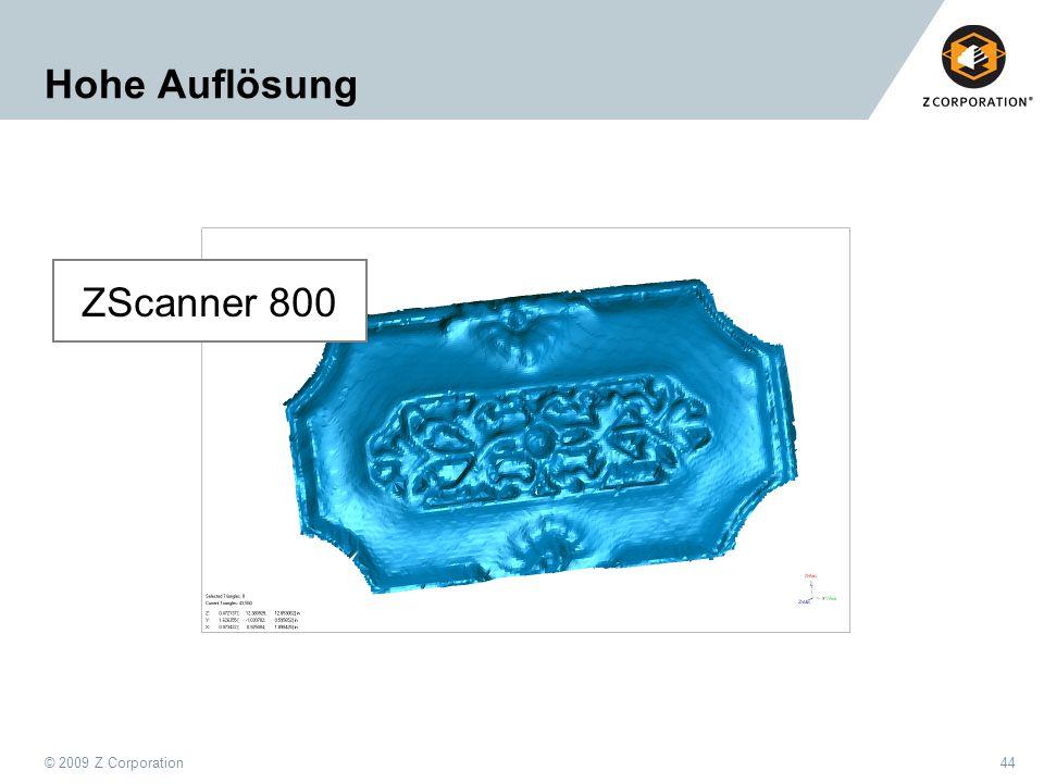 Hohe Auflösung ZScanner 800