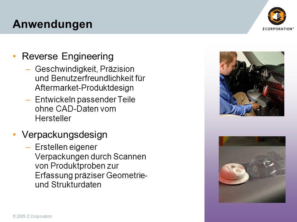 Anwendungen Reverse Engineering Verpackungsdesign