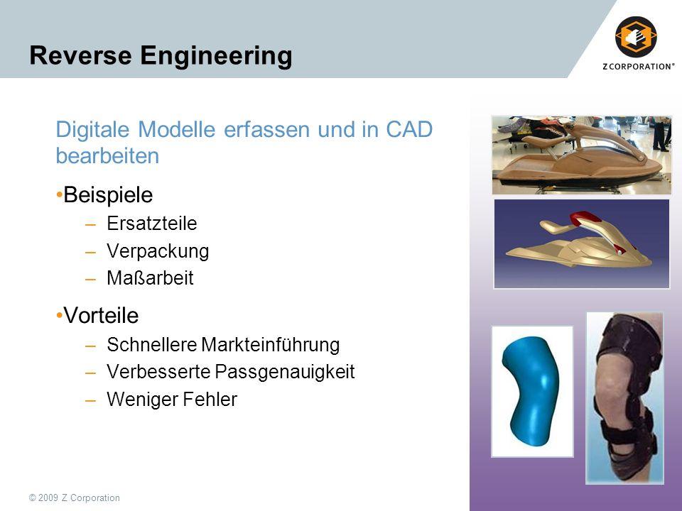 Reverse Engineering Digitale Modelle erfassen und in CAD bearbeiten