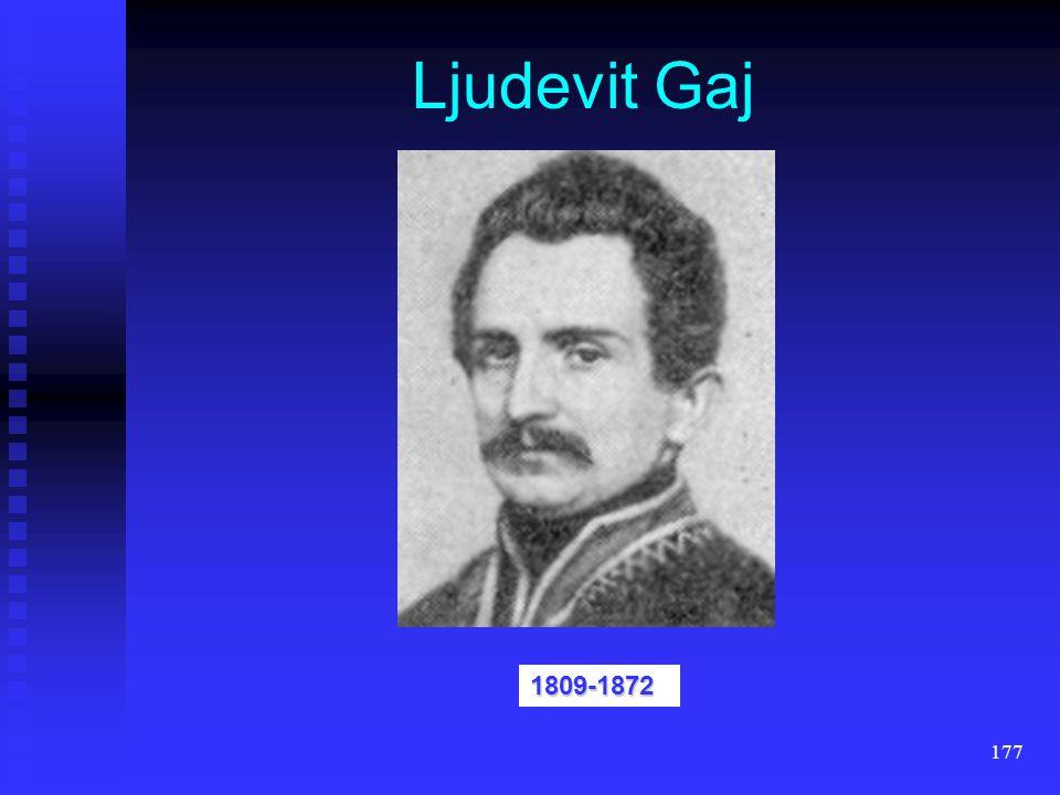 Ljudevit Gaj 1809-1872