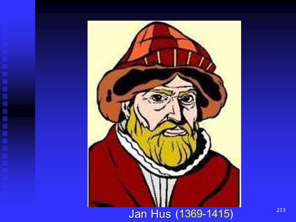 (1369-1415) Jan Hus