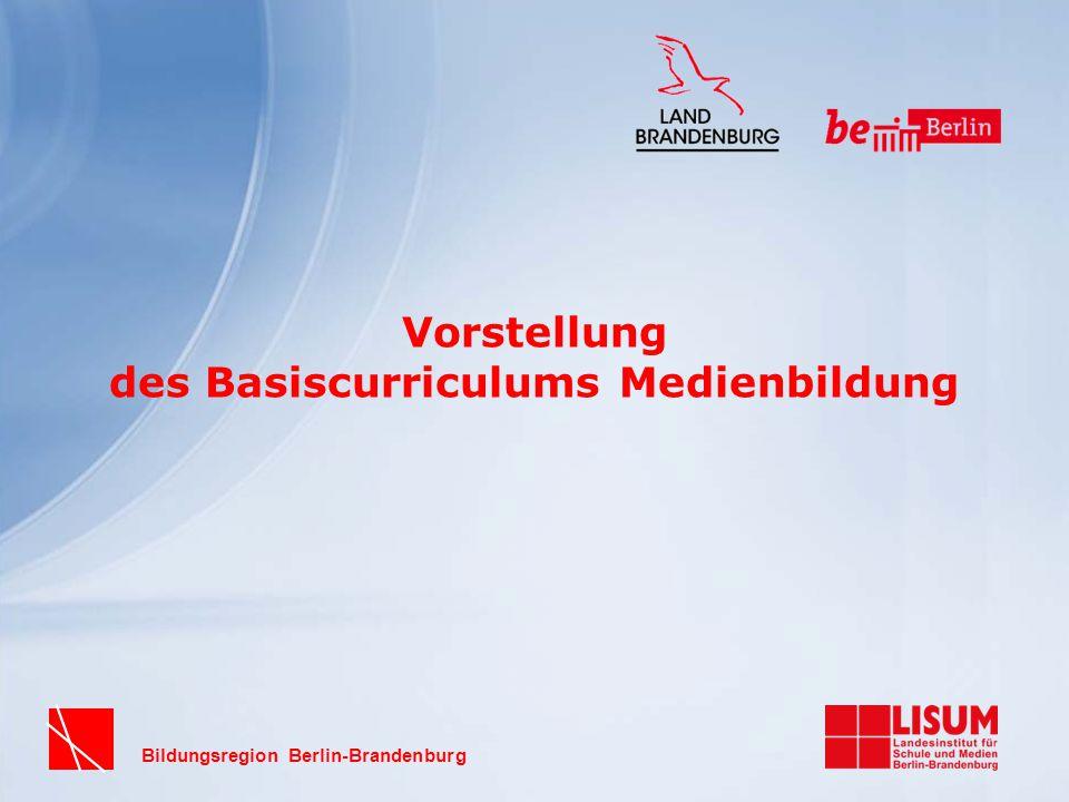 Vorstellung des Basiscurriculums Medienbildung