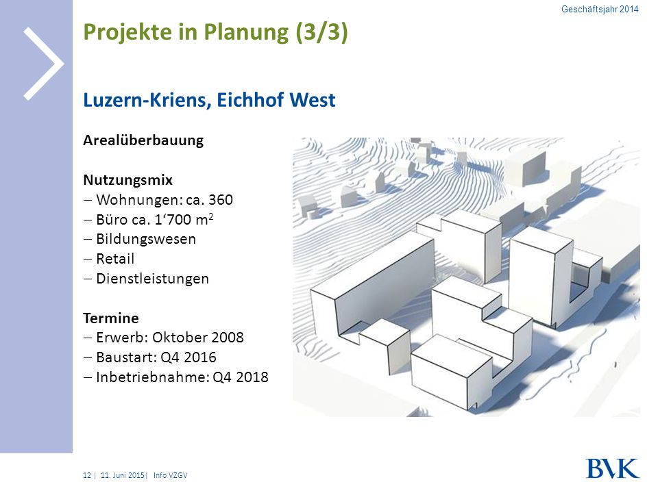 Projekte in Planung (3/3)