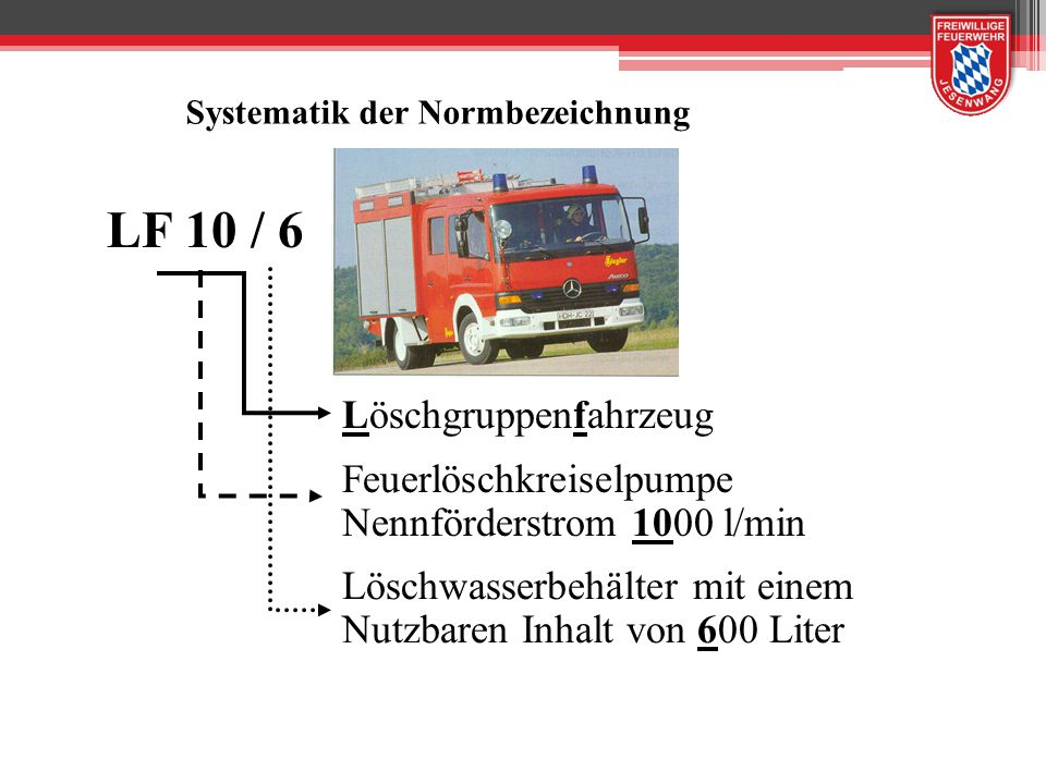 LF 10 / 6 Löschgruppenfahrzeug Feuerlöschkreiselpumpe