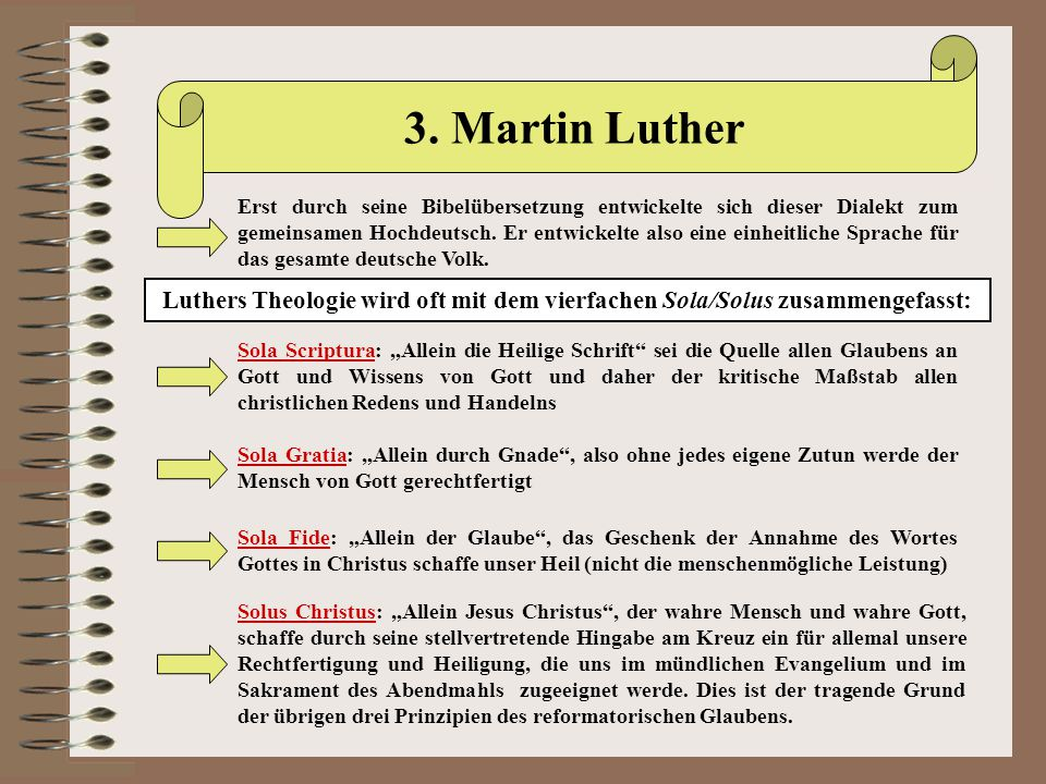 3. Martin Luther