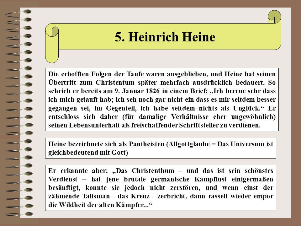 5. Heinrich Heine