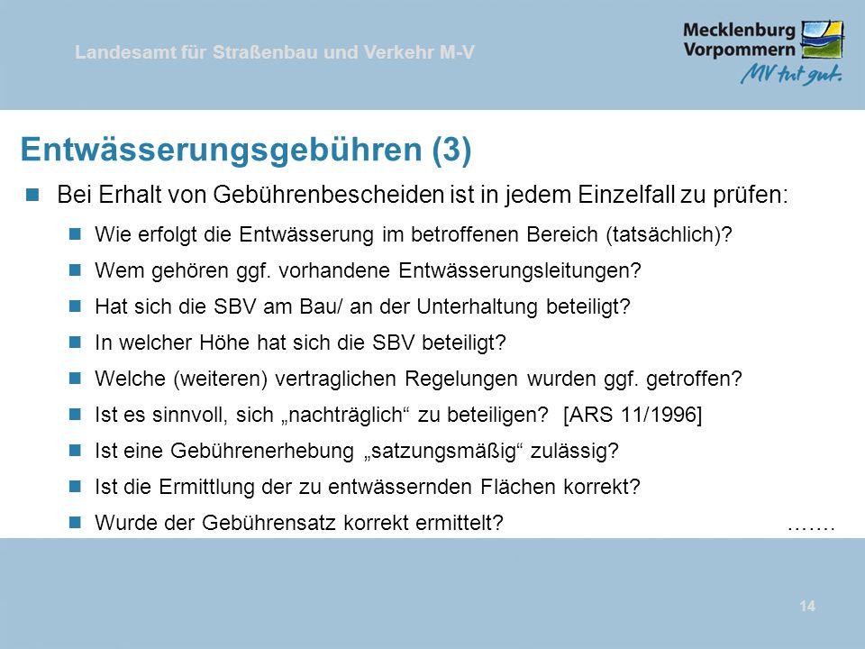 Entwässerungsgebühren (3)