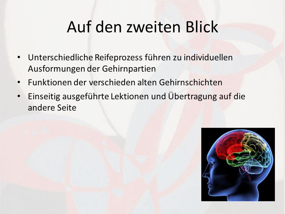 Auf den zweiten Blick Unterschiedliche Reifeprozess führen zu individuellen Ausformungen der Gehirnpartien.