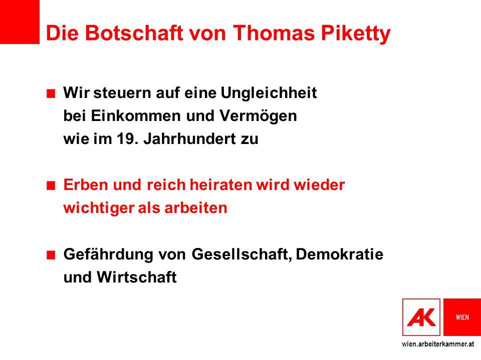 Die Botschaft von Thomas Piketty