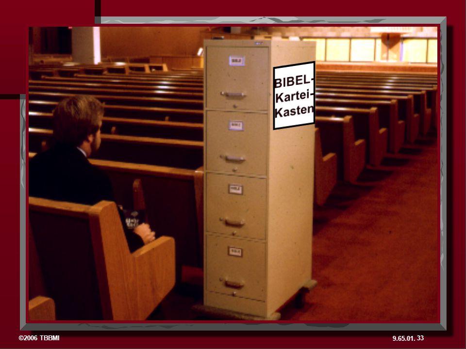 BIBEL- Kartei- Kasten.