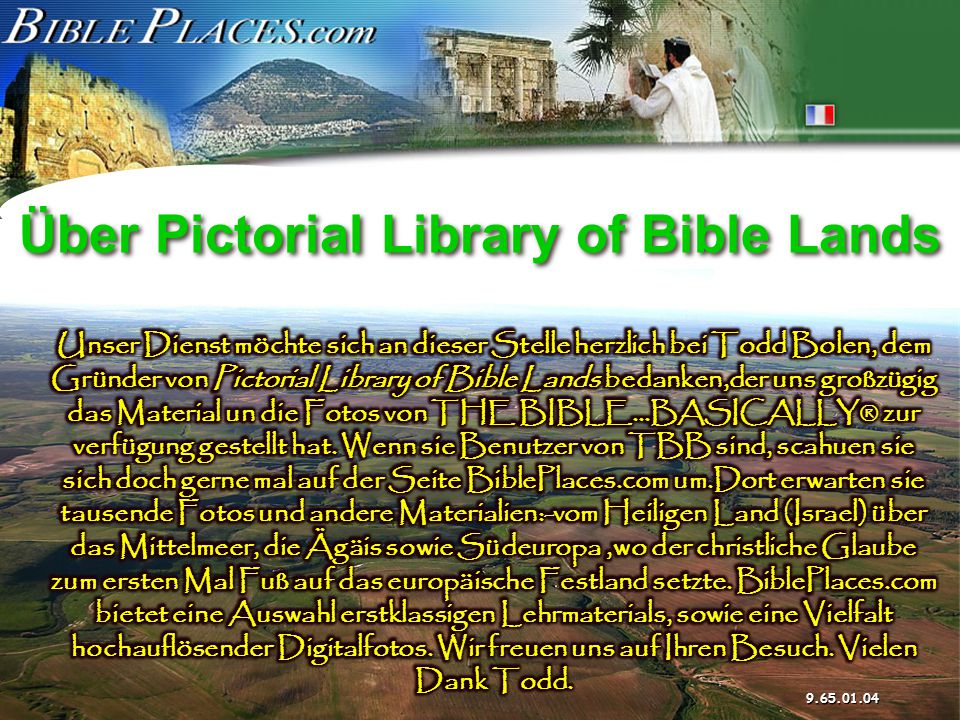 Über Pictorial Library of Bible Lands