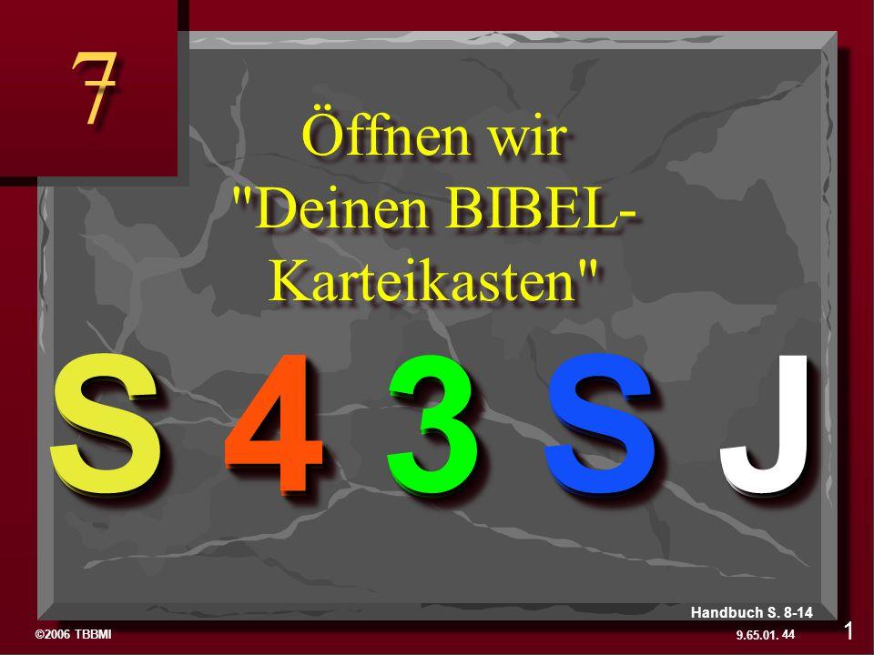 Öffnen wir Deinen BIBEL-Karteikasten