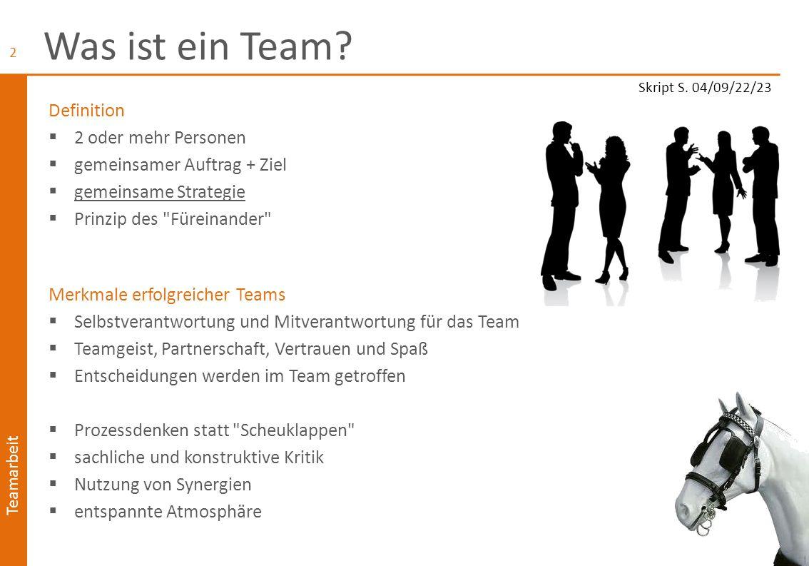 Was ist ein Team Definition 2 oder mehr Personen