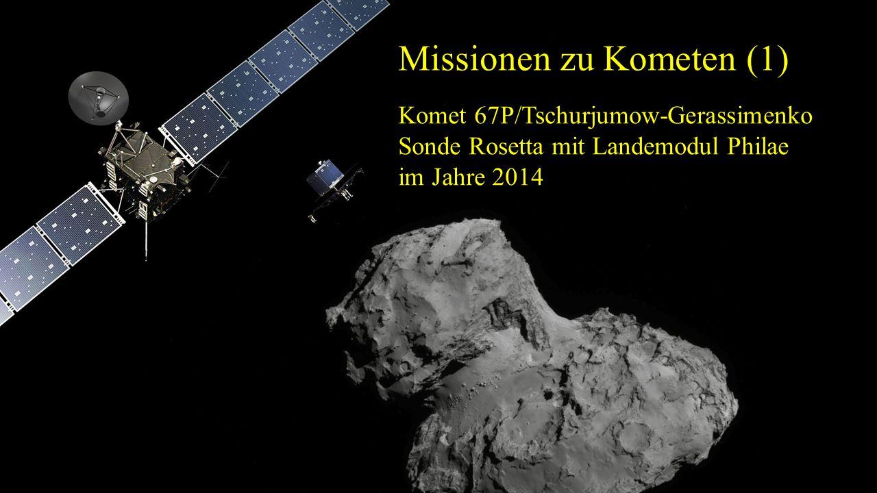 Missionen zu Kometen (1)