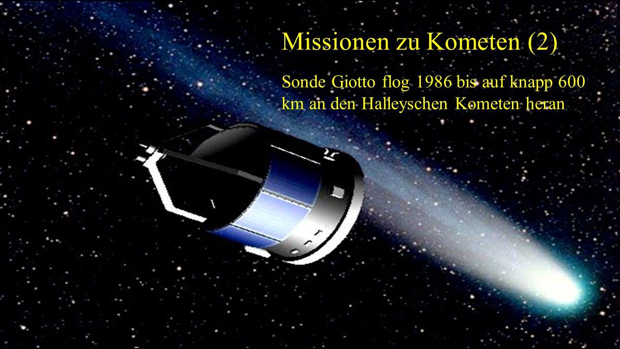 Missionen zu Kometen (2)