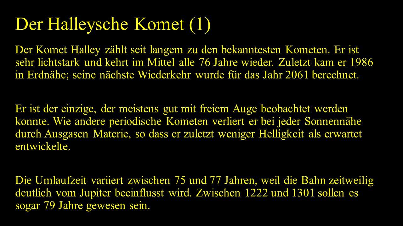 Der Halleysche Komet (1)