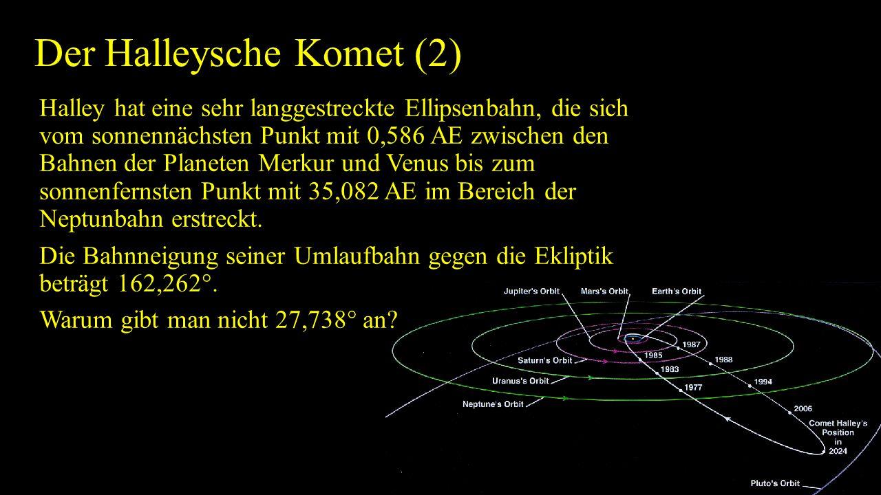Der Halleysche Komet (2)