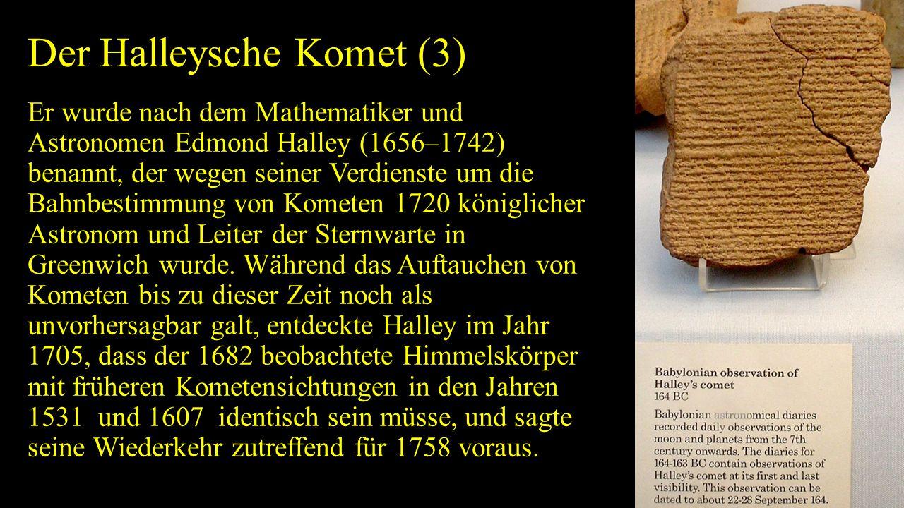 Der Halleysche Komet (3)