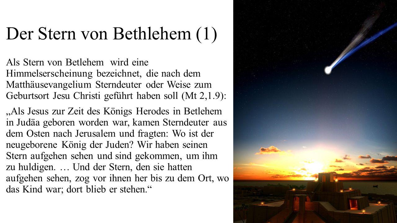 Der Stern von Bethlehem (1)