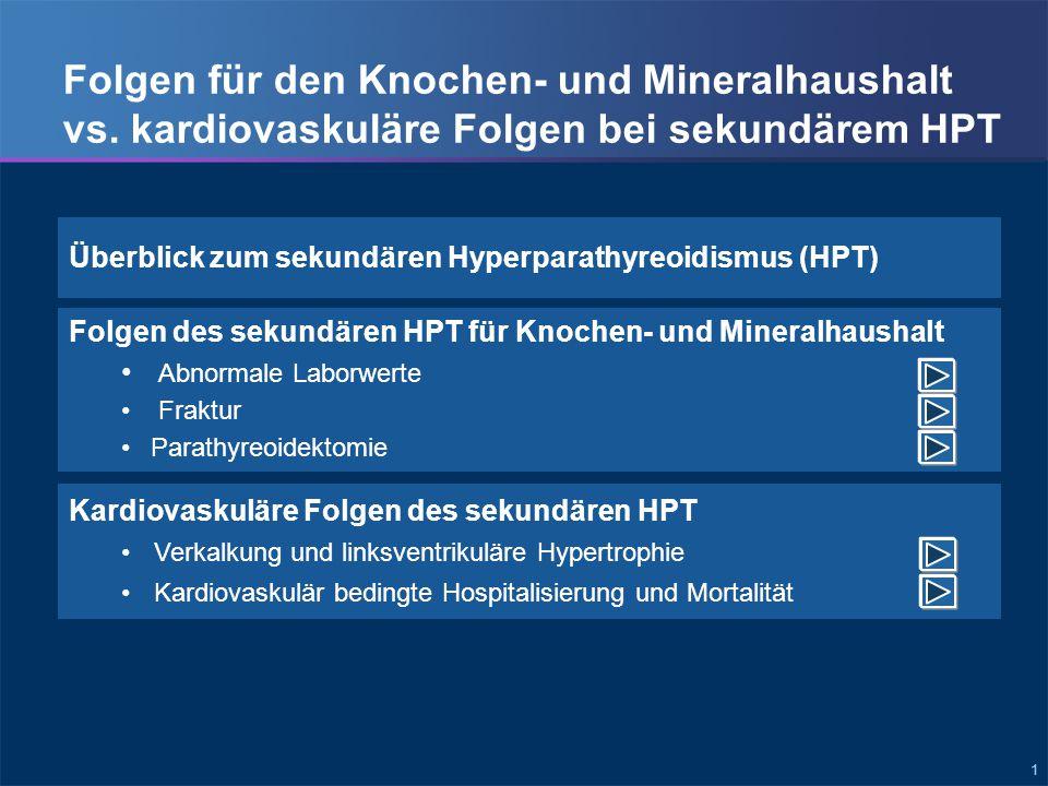 Überblick zum sekundären HPT