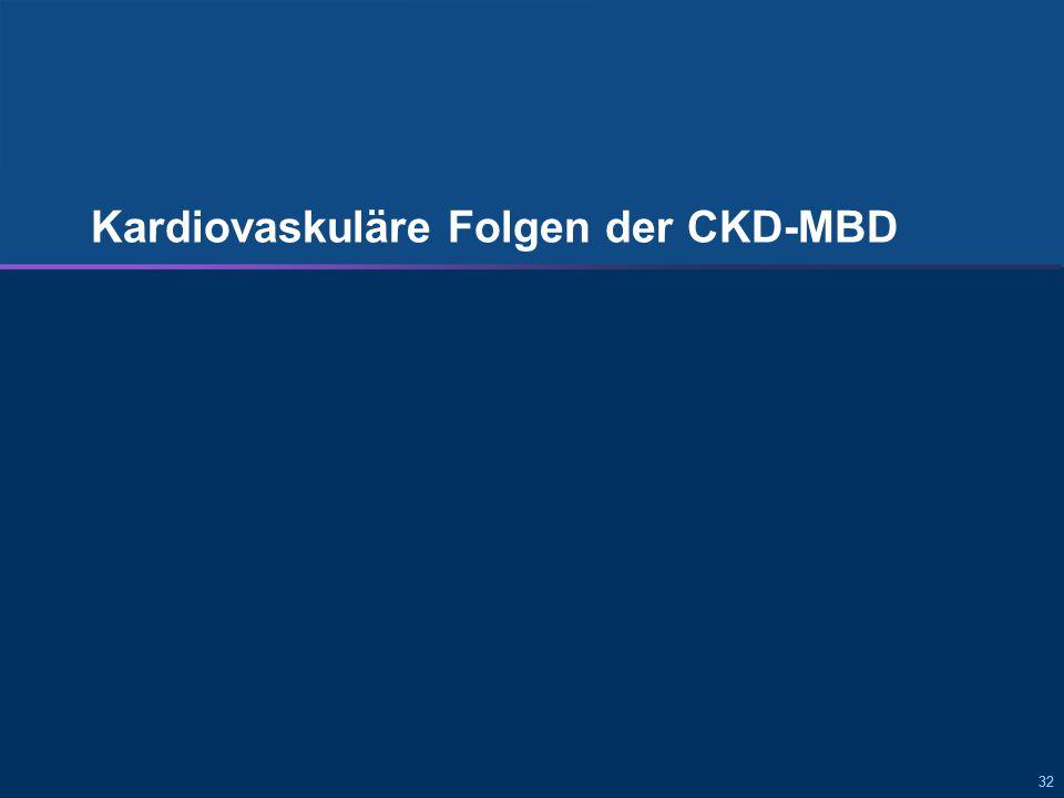 Folgen von sekundärem HPT und CKD-MBD